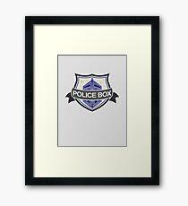 Badge Doc Framed Print