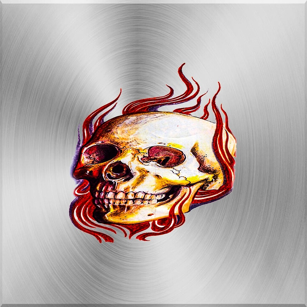 025 demon skull by fwc-usa-company