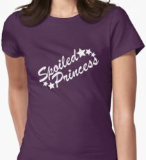 Spoiled Princess Womens Fitted T-Shirt