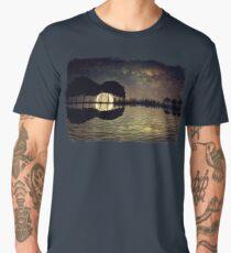 guitar island moonlight Men's Premium T-Shirt