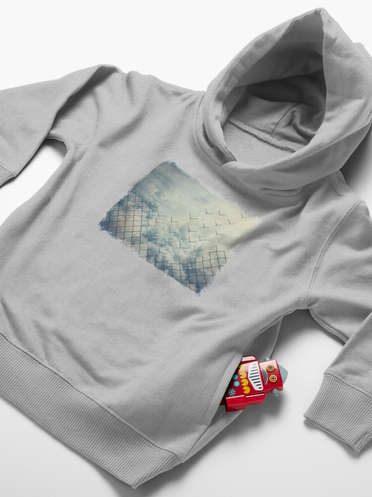 Alternate view of Magical ecape  Toddler Pullover Hoodie