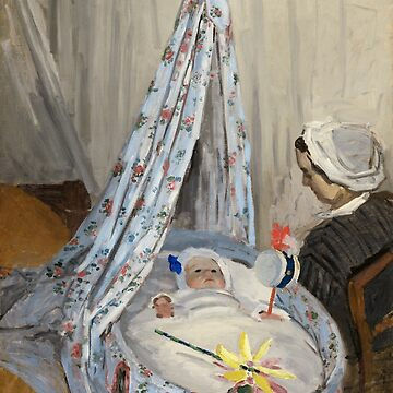Monet - The Cradle - Classic Art by EclecticWarrior