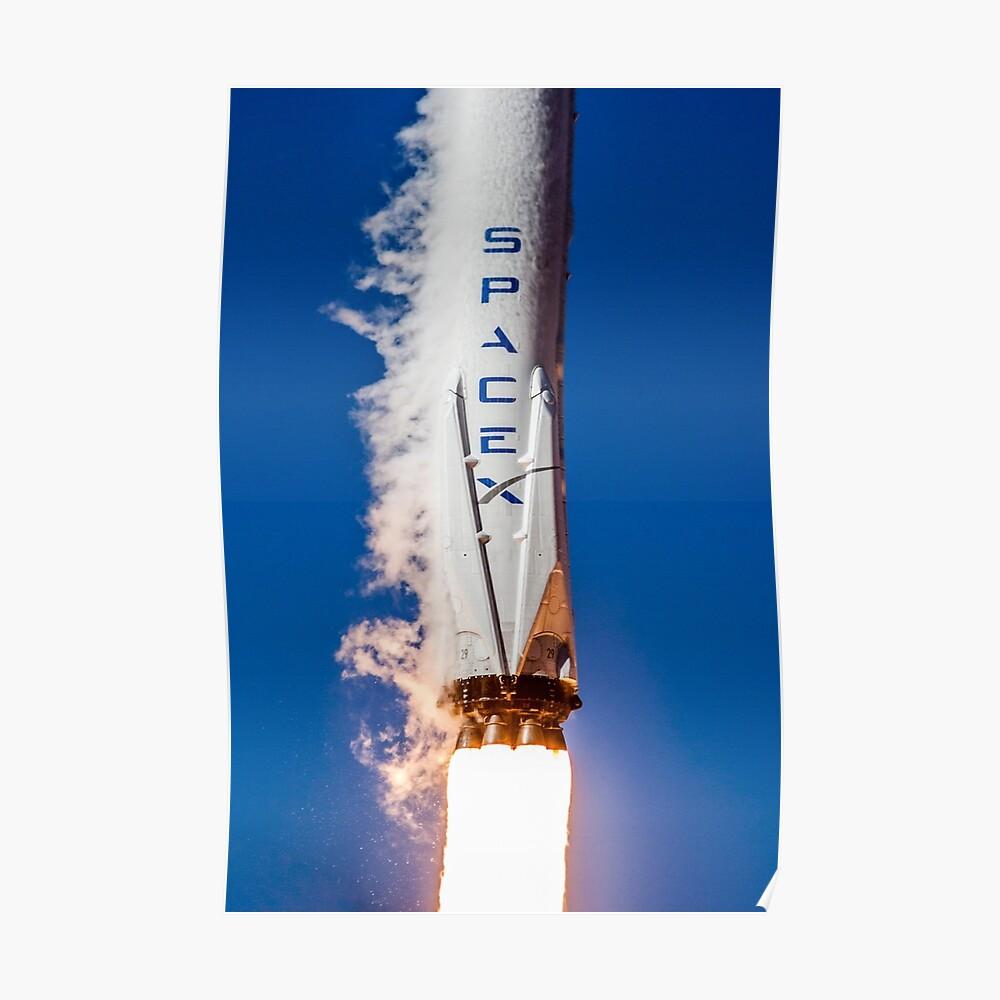 SpaceX Iridium-1 Start Poster