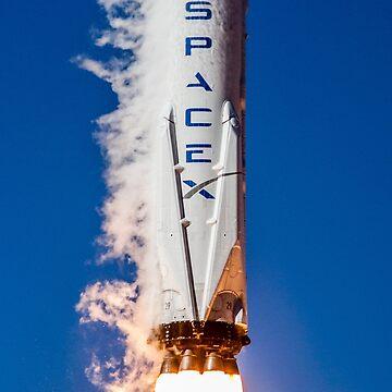 SpaceX Iridium-1 Launch by bobbooo