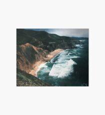 Big Sur Surf und Küste Galeriedruck