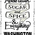 Sugar and Spice Washington by heeheetees
