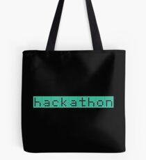 Retro Screen Hackathon Hack Coder Hacking Tote Bag