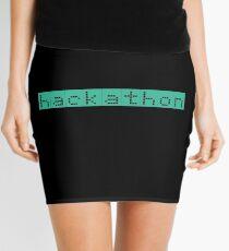 Retro Screen Hackathon Hack Coder Hacking Mini Skirt