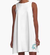 Best Buds Sea Legs Cartoon  A-Line Dress