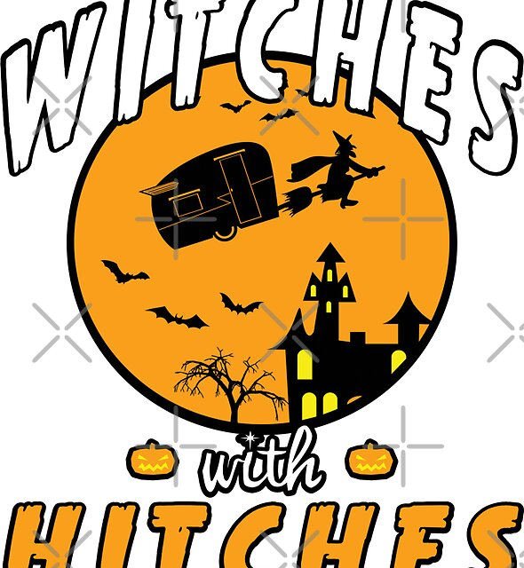 Witches with Hitches Tshirt by EthosWear