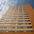 Great Plains Building by Donna Adamski