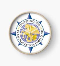 United States Transportation Command (USTRANSCOM) Emblem Clock