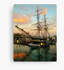 Tall Ships.... Canvas Print