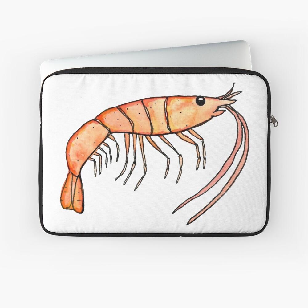 Prawn: Fish of Portugal Laptop Sleeve