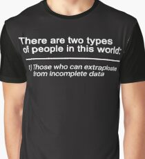 2 Types of People in This World  Graphic T-Shirt
