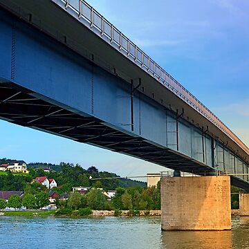 Bridge across the river Danube II | architectural photography by patrickjobst
