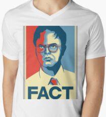 Fact - Dwight Schrute Men's V-Neck T-Shirt