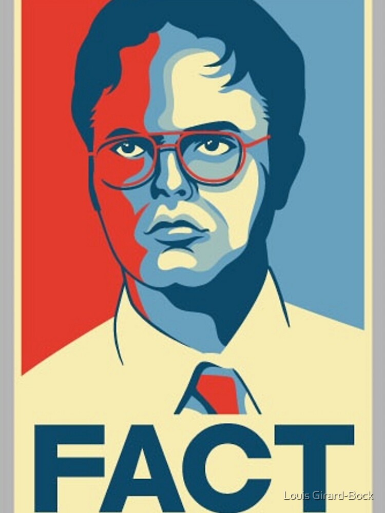 Fact - Dwight Schrute by Bockethead