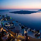 Santorini sunset by Monica Di Carlo