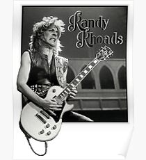 Randy Rhoads Poster