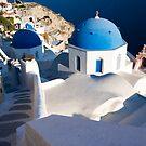 Oia Church, Santorini Island (Greece) by Monica Di Carlo