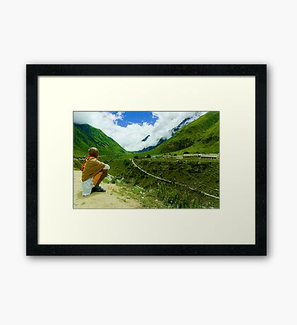 Nature's Beauty at Manna Framed Print