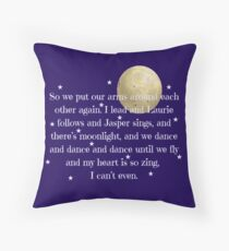My Heart Is So Zing Throw Pillow