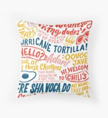 Vine app art  Throw Pillow