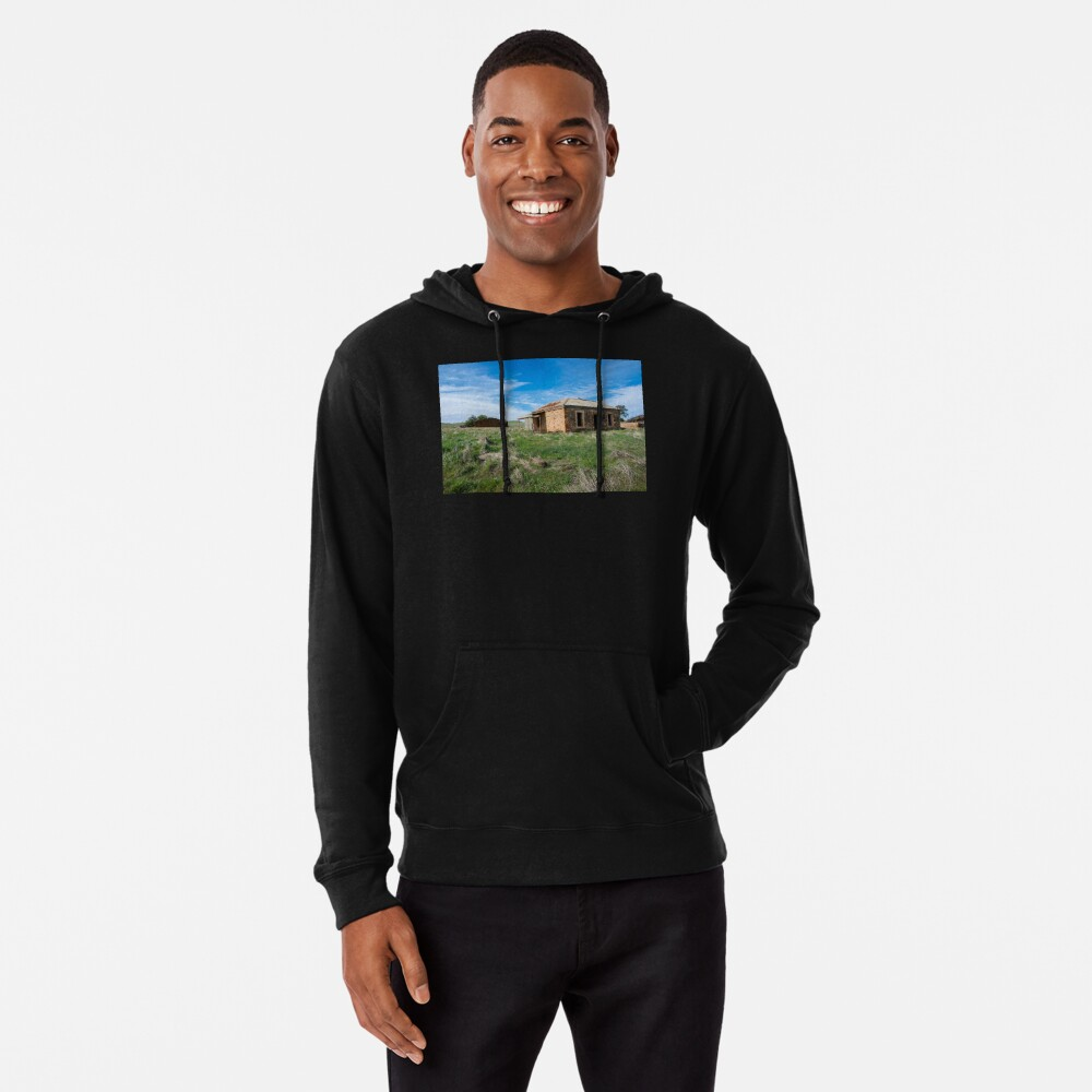Abandoned Stone Cottage Lightweight Hoodie