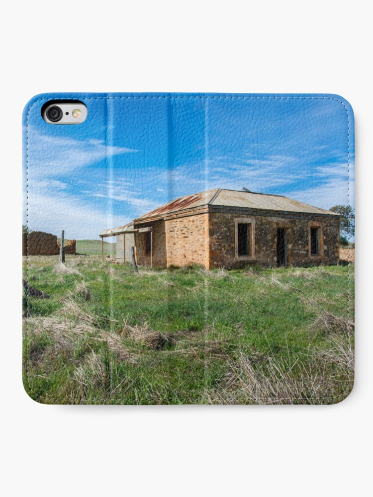 Alternate view of Abandoned Stone Cottage iPhone Wallet