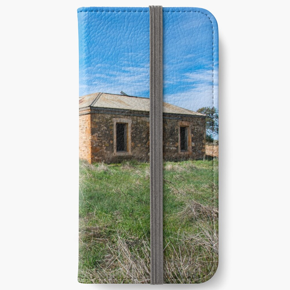 Abandoned Stone Cottage iPhone Wallet