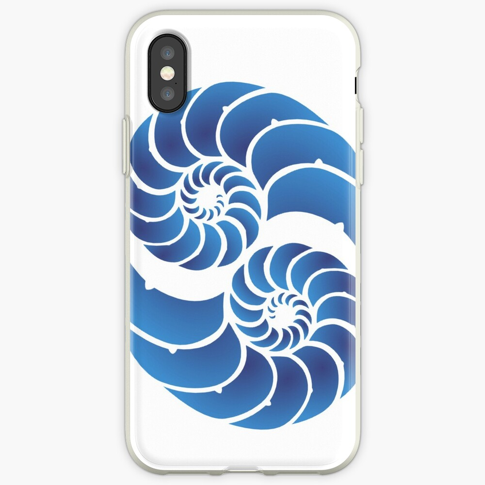 Twin Nautilus Shells iPhone Cases & Covers