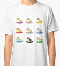 All Corgi Pokemon Eevee Cosplays Classic T-Shirt