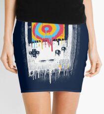 Color Mini Skirt
