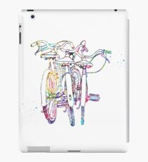 Three bicycles iPad Case/Skin