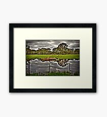 Green Country Framed Print