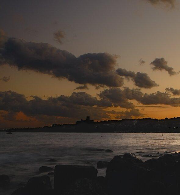 La Riviera  dei Ciclopi al calar della sera by Andrea Rapisarda