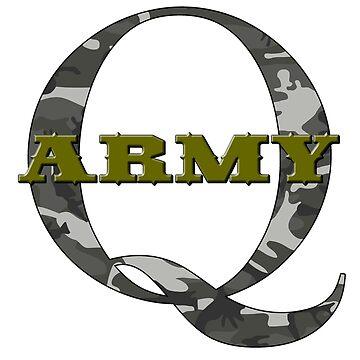 Q ARMY #wwg1wga #qanon Qanon by AltrusianGrace