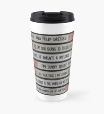 Brooklyn 99 - Title of Your Sex Tape (Clean Font) Travel Mug