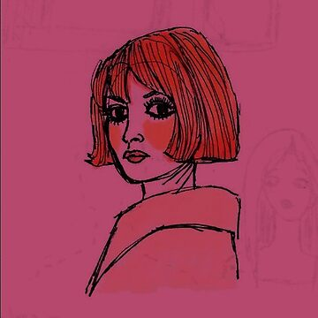 Dark Fuschia Bardot by m-oonriver