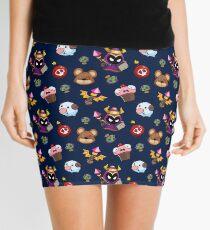 LoL pattern Mini Skirt