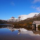 The Boat Shed at Cradle Mountain  by Lissie EJ