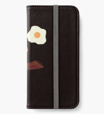 Bacon and Eggs Breakfast Face iPhone Wallet/Case/Skin