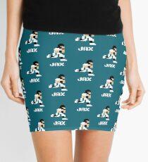 8 bit Jax Football 1 Mini Skirt
