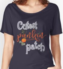 Cutest Punkin in the Patch  Women's Relaxed Fit T-Shirt
