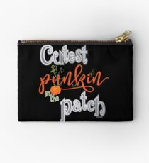 Cutest Punkin in the Patch  Studio Pouch