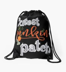 Cutest Punkin in the Patch  Drawstring Bag