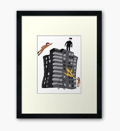 Rudy 2's Sweater Framed Print