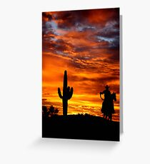 Wild Wild West Greeting Card
