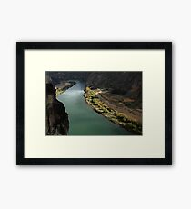 Snake River Canyon Framed Print